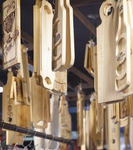 la chacra tablas de madera picada